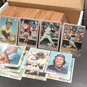 1978 Topps Baseball Cards - Partial Set (450)